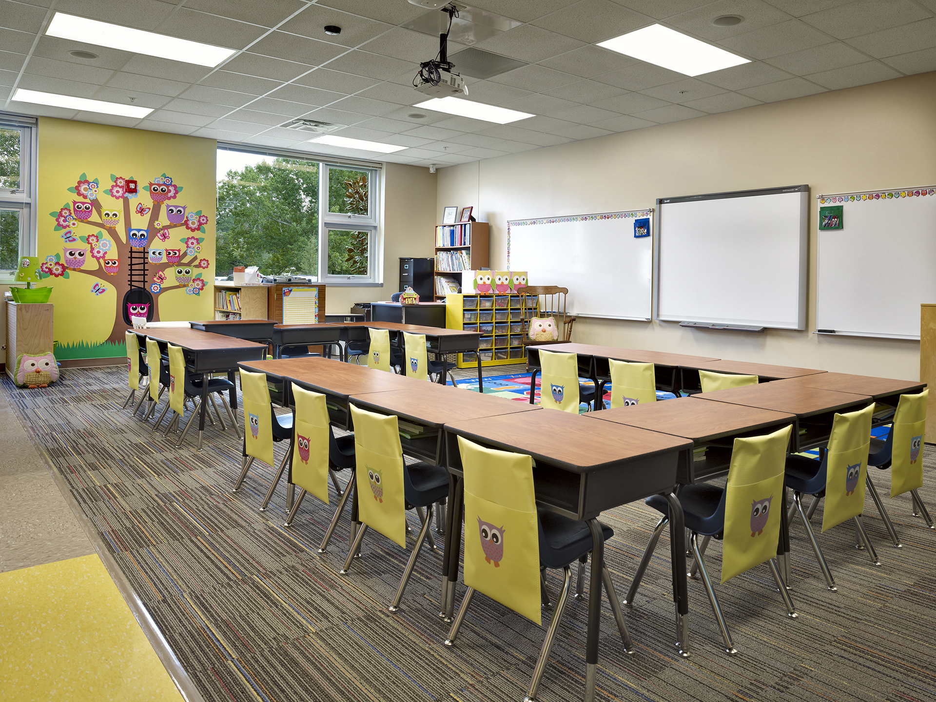 Classroom Design Project : Located in winter park brookshire elementary school
